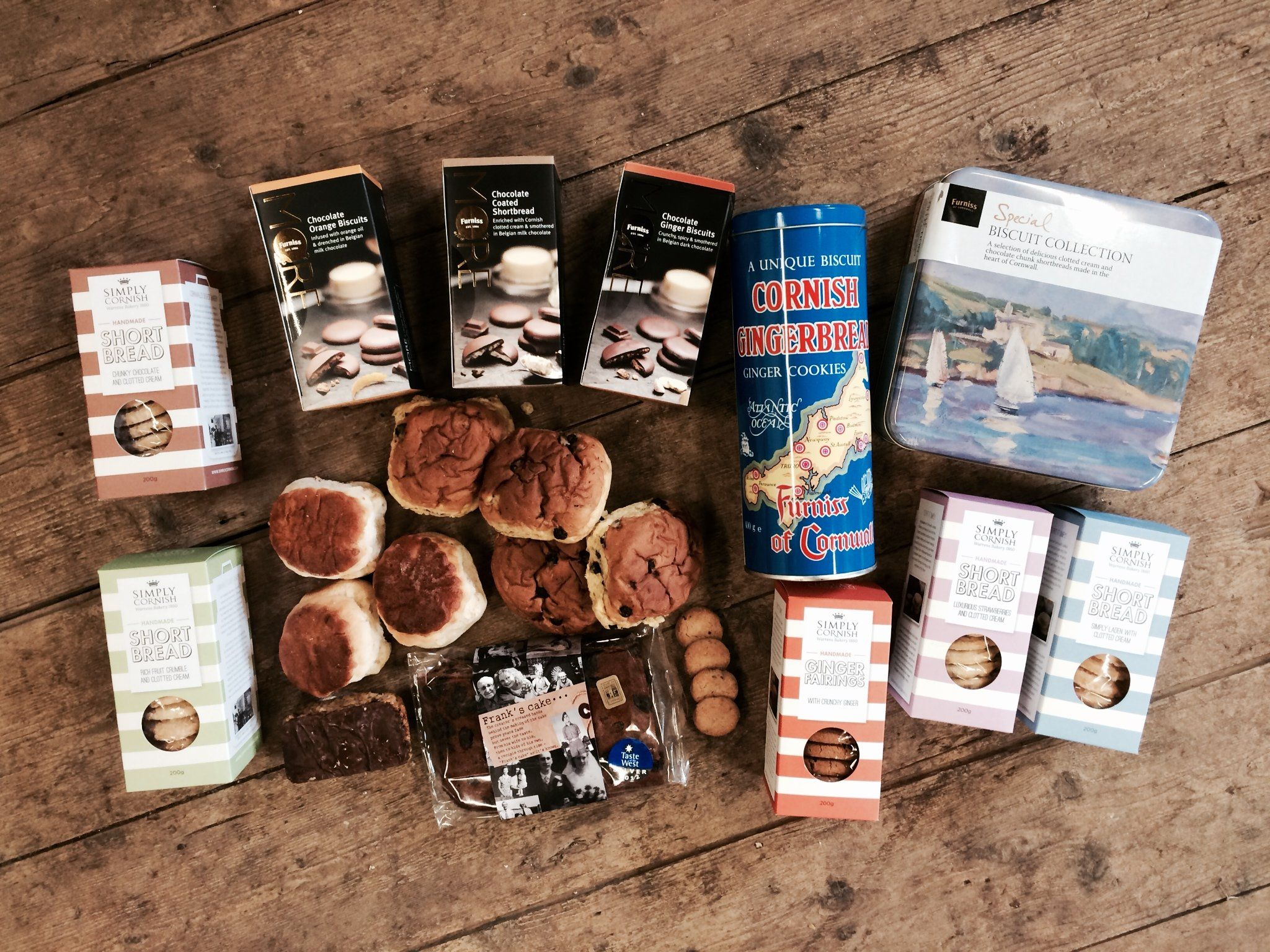 Cakes, Buns & Biscuits