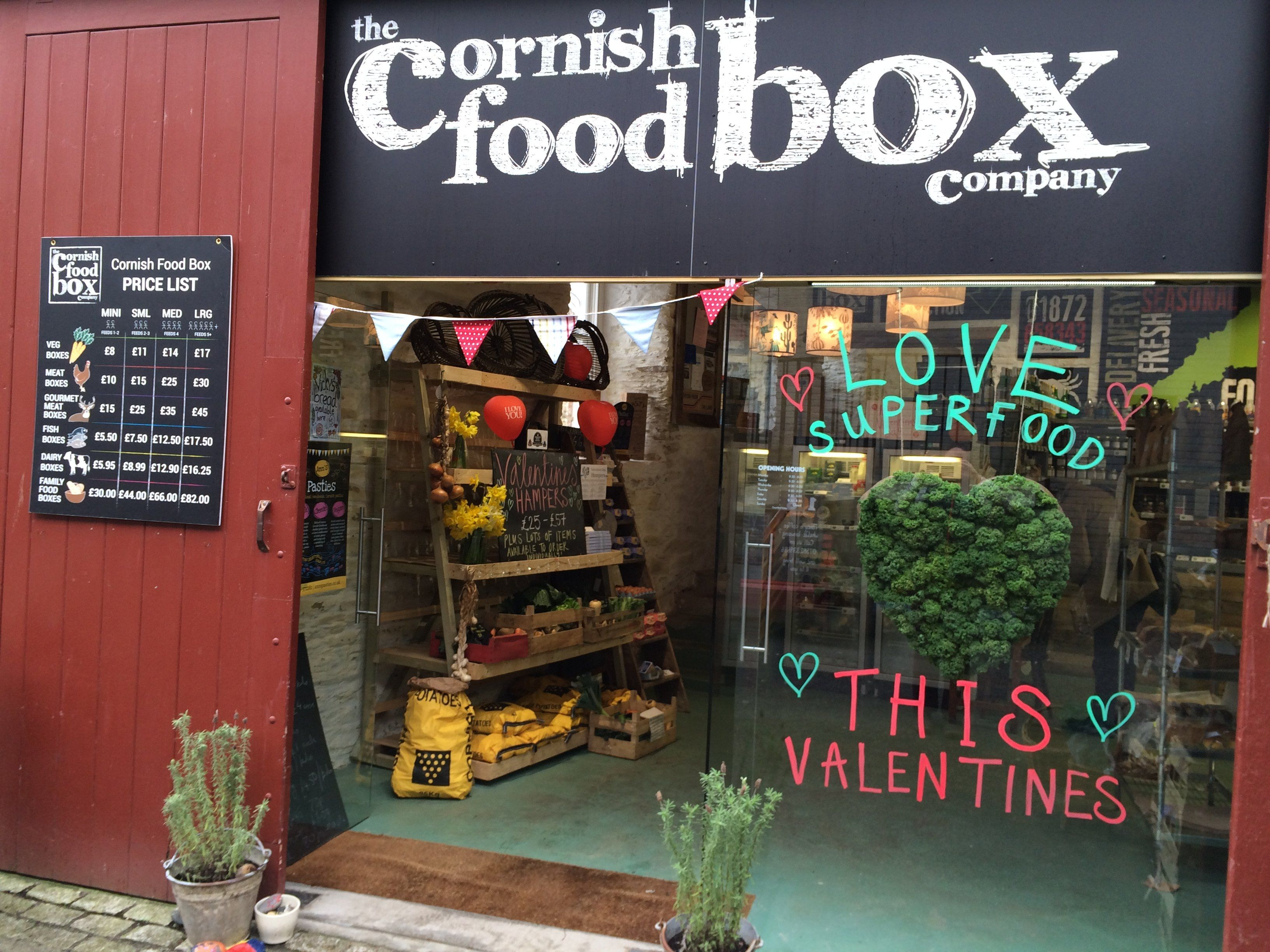 Pleasant Shop Cafe The Cornish Food Box Company Gmtry Best Dining Table And Chair Ideas Images Gmtryco