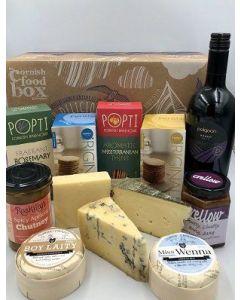 Cheese and Wine Hamper - Medium