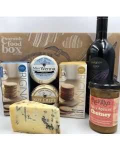 Cheese and Wine Hamper - Small