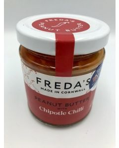 Freda's Peanut Butter with Smoked Chipotle Chilli 180g