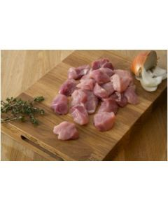 Free Range Diced Pork 500g