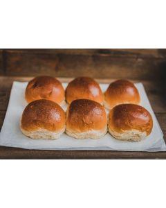 Baker Tom's Glazed Burger Buns 6pk
