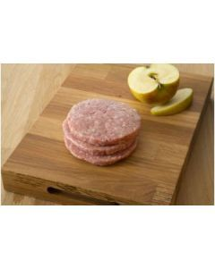 Pork & Apple Burgers, 4 pack
