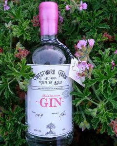 Isles of Scilly Rose Geranium Gin 70cl