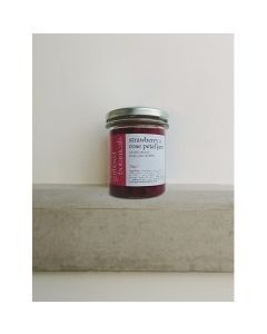 Gathered Strawberry & Rose Petal Jam 212g