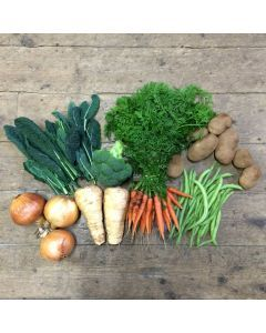 Mini seasonal veg box